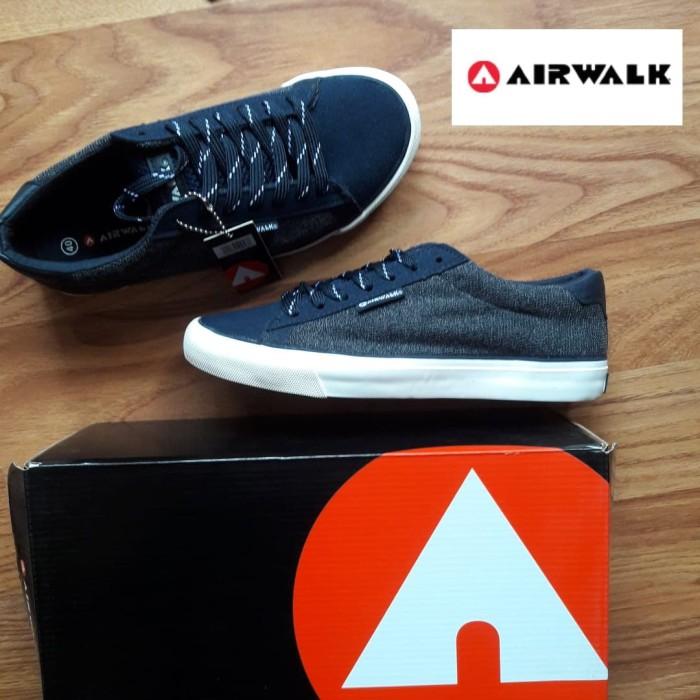 Jual Asli Sepatu Airwalk Original Korionnavy Sepatu Casual Pria