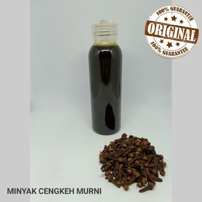 Foto Produk Minyak Cengkeh / Clove oil /Clove Essential oil (100ml) dari Gudang Kimia Jogja