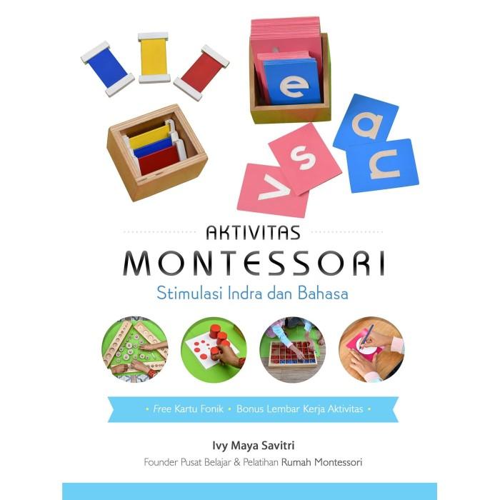 Foto Produk Aktivitas Montessori Stimulasi Indra dan Bahasa - Ivy Maya Savitri dari Republik Fiksi