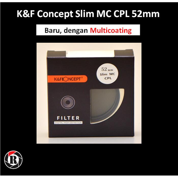 harga Kf filter slim cpl (circular polarizer) - 52mm Tokopedia.com