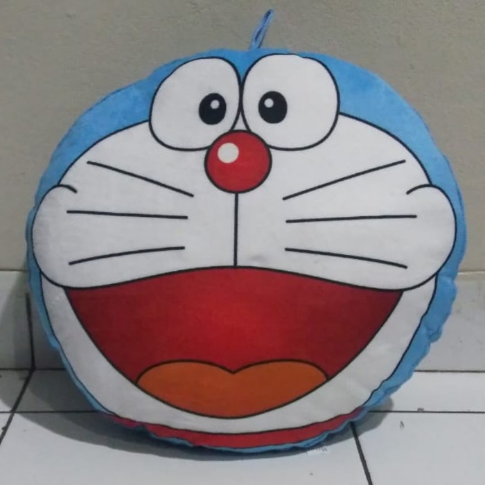 Jual Bantal Boneka Body 3d Kepala Doraemon Dora Emon Biru Lucu Halus Lembut Kota Bandung Keinka Deshop Tokopedia