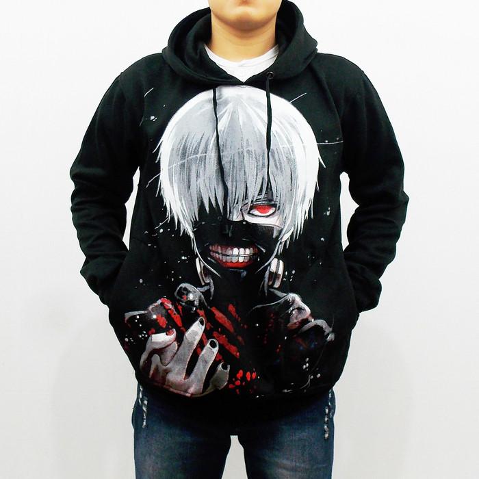 Jual Jaket Anime Tokyo Ghoul Jaket Tokyo Ghoul Ken Kaneki Sweater Anime Kab Bandung Brasco 88 Tokopedia