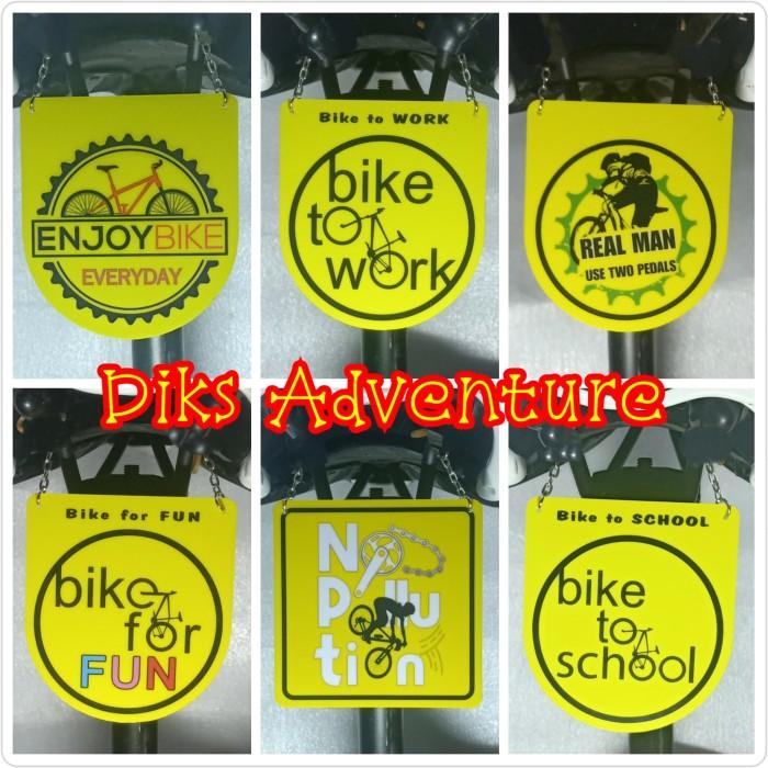Foto Produk Gantungan sadel b2w, tas sadel, aksesoris sepeda, polygon dari diks adventure