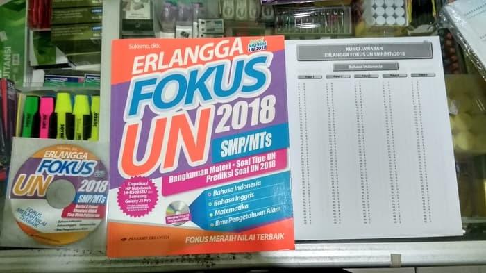 Jual Murah Kumpulan Soal Smp Best Seller Erlangga Fokus Un 2018 Untuk Jakarta Timur Winda Sihotang Tokopedia