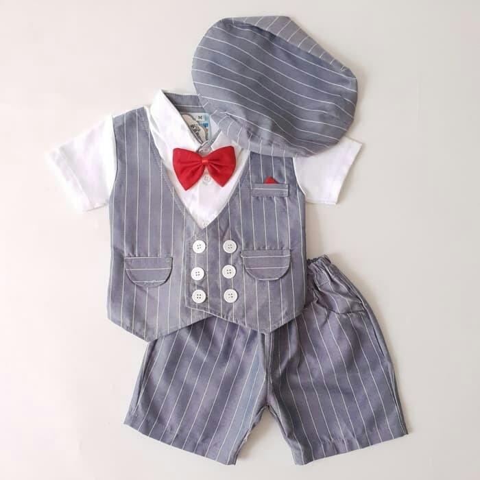 Foto Produk baju pesta anak laki 3 warna dari Raraa Shop