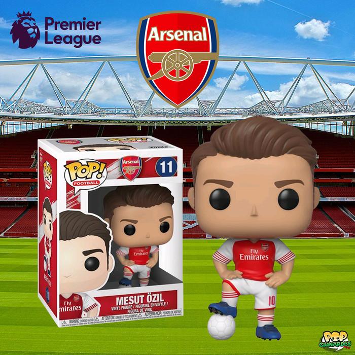 Arsenal POP Football Mesut Ozil Funko Vinyl Fingure Collect Bobble Head
