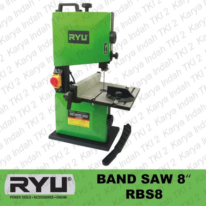 "Foto Produk Band Saw 8"" RYU RBS8 Mesin Gergaji Pita Sabuk Bandsaw Wood RBS 8 350W dari Karya Indah TKI 2"