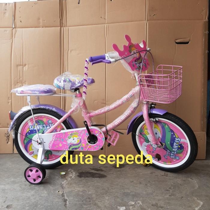 Jual sepeda anak perempuan 18 inch - Kota Depok - dua
