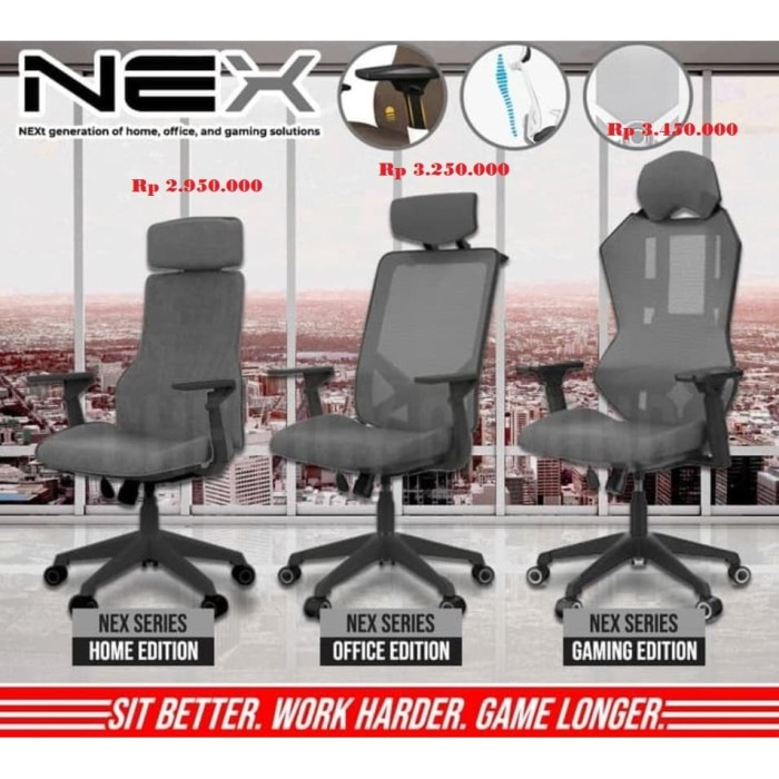Kursi Office Chairs Dxracer Nex Gaming