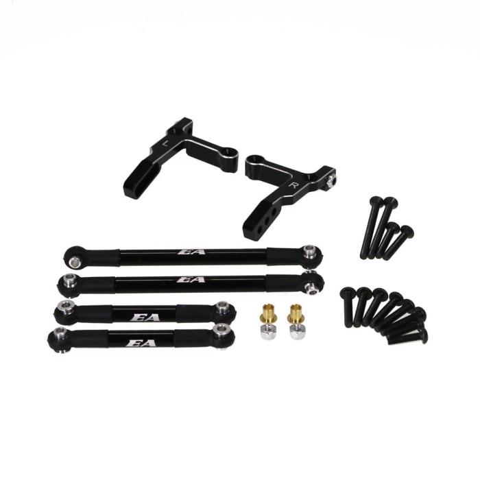 Foto Produk ER CC-01 Aluminium Rear Adjustable Link Set (Black) (CC01-11) dari Tamiyatoys