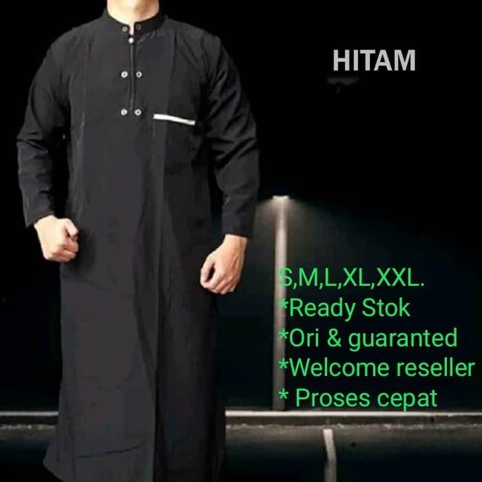 Foto Produk Jubah Koko gamis Al harbi / Jubah takwa pria terlaris HRB001 dari KOKOGAMIS.ID
