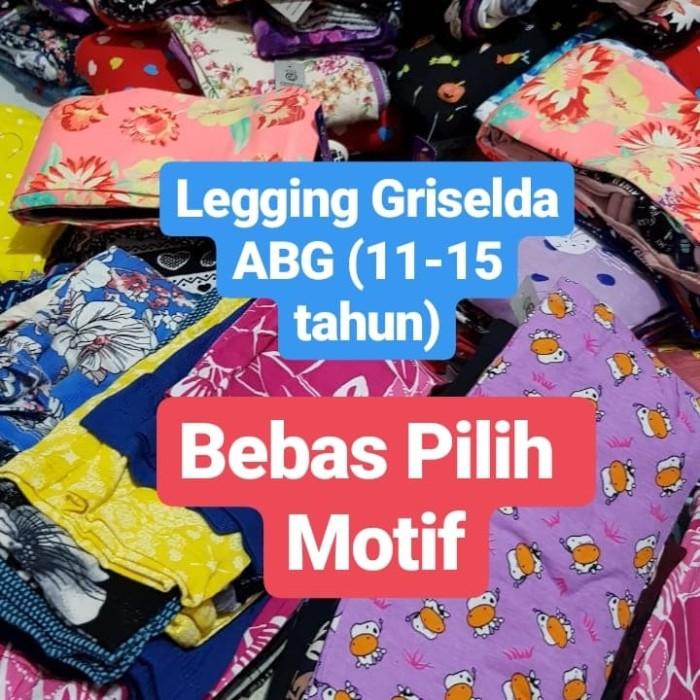 Foto Produk Legging Griselda ABG, 11-15tahun, BEBAS PILIH MOTIF dari DIAR_GROSIRKIDS