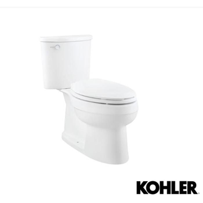Foto Produk KOHLER Adair Toilet Seat Kloset Duduk Lengkap (Tutup + Alat) K-22248K dari Wisma Sehati Online