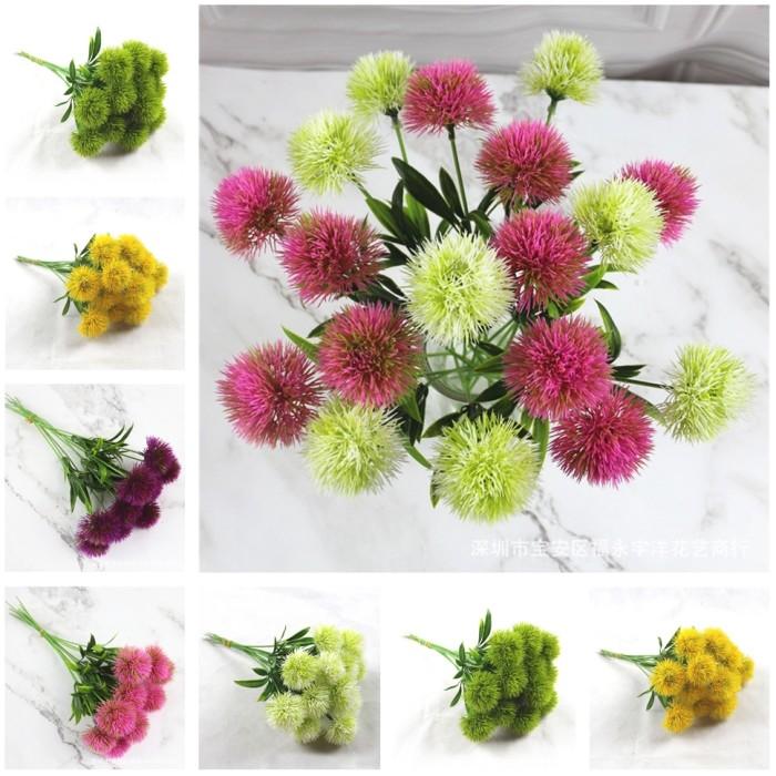 Jual Borong Eropa Plastik Pengaturan Bunga Dandelion Fotografi