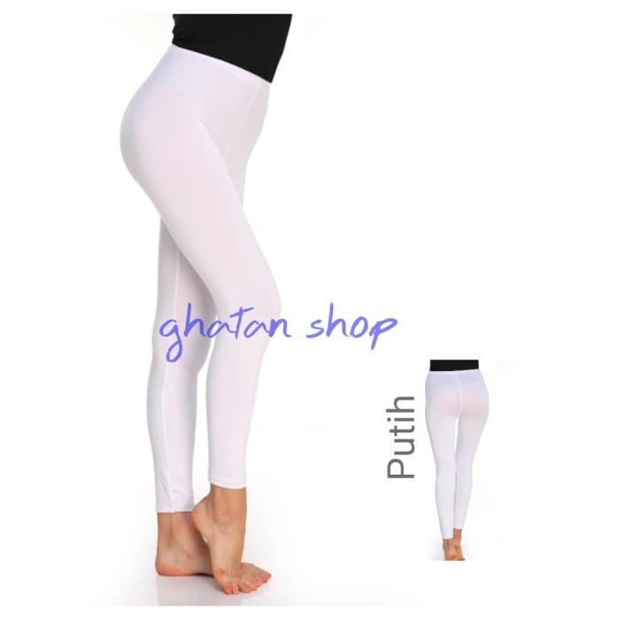 Jual Celana Legging Wanita Putih Kota Depok Aliefah Shop Tokopedia