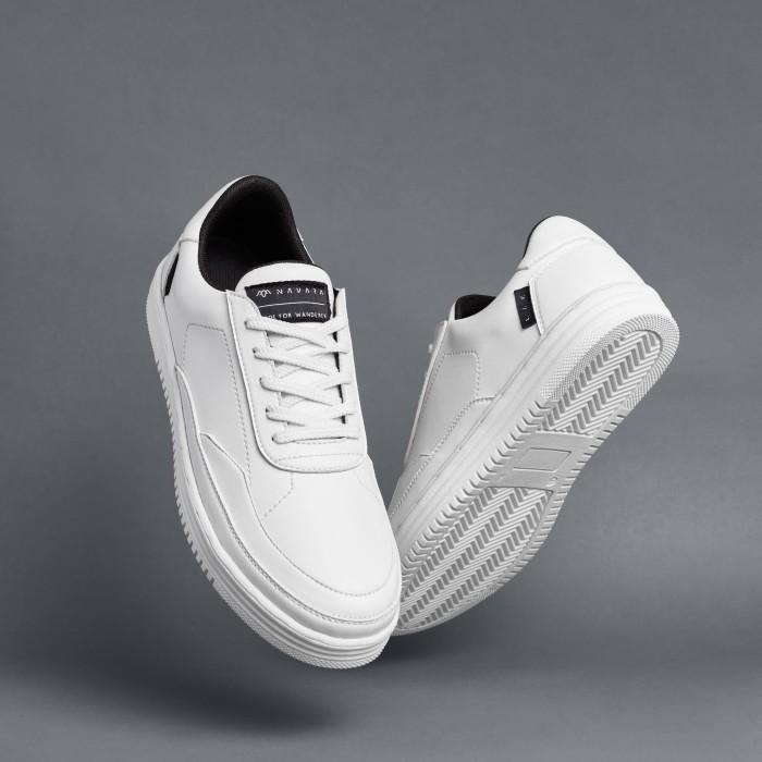 Foto Produk SEPATU SNEAKERS PRIA NAVARA BSC 07 WHITE TOTOSURYO x NAVARA FOOTWEAR dari Toto_Suryo