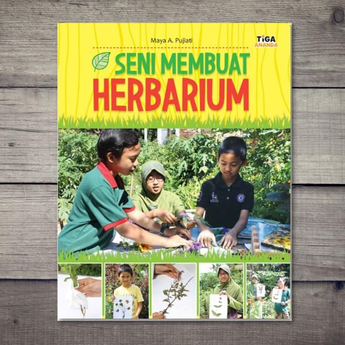 Foto Produk Buku Seni Membuat Herbarium dari Taman Lestari