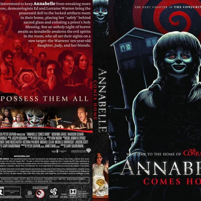 Jual Film Dvd Annabelle Comes Home 2019 Movie Collection Film Koleksi Jakarta Barat M Collector Tokopedia