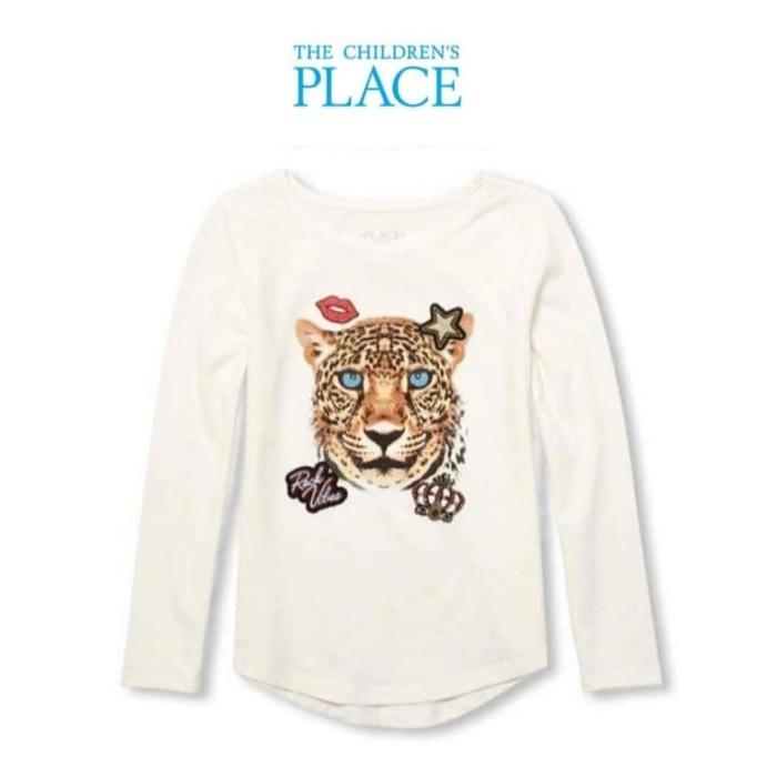 Foto Produk Baju anak lengan panjang branded The Children's Place tiger 4-14 T - 7-8 tahun dari Galeri Ona