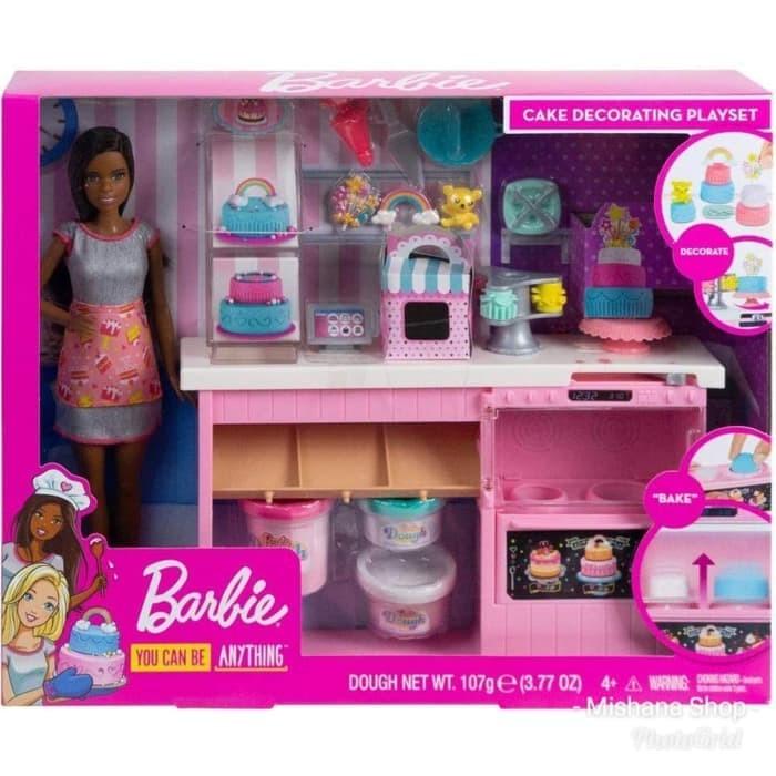 Jual Boneka Barbie Mattel Cake Decorating Doll Pembuat Kue Bakery Playset Kota Tangerang Kiranipedia Tokopedia