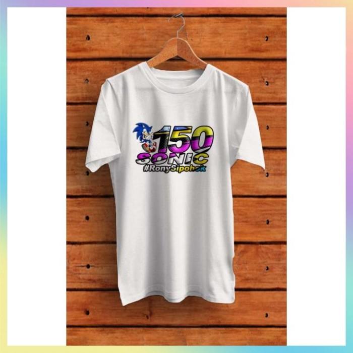 Jual Super Murah Kaos Racing Sonic Jakarta Barat Cc02 Online Tokopedia