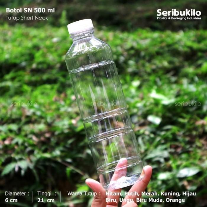 Foto Produk Botol Plastik 500 ml / Botol Plastik SN 500 ml dari Seribu Online