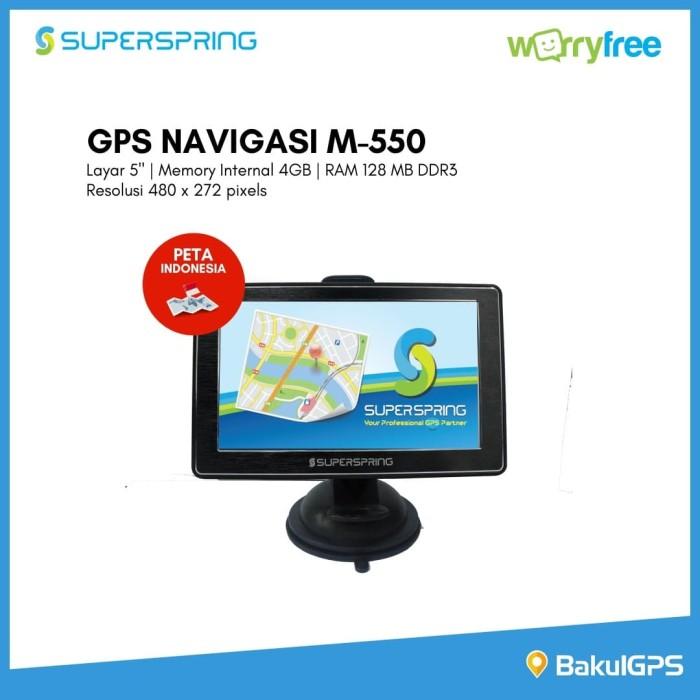 Foto Produk Paling Laris!! GPS Navigasi Super Spring M550 - avin dari BakulGPS.co.id