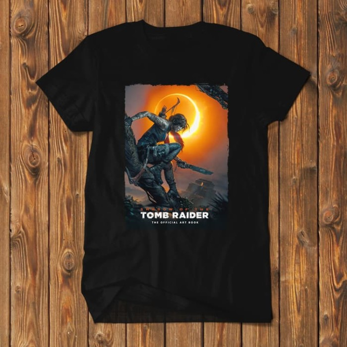 Foto Produk Tomb Raider Shadow Of Playstation Xbox TR-SOTR01 dari Supplier Kaos Custom