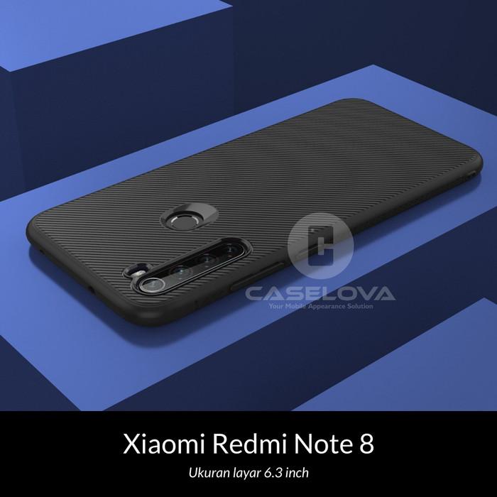 Foto Produk Case Xiaomi Redmi Note 8 Evoskin Anti Skid Silicone - Hitam dari Caselova Store