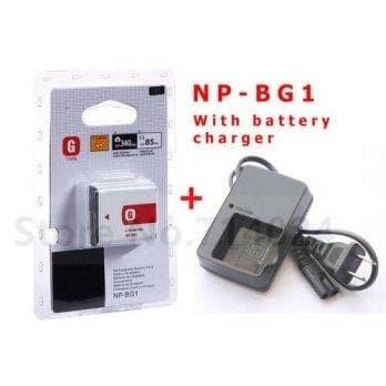 Foto Produk PAKET BATERAI SONY NP-BG1 + CHARGER BC-CSG dari Grosir Aksesoris Kamera