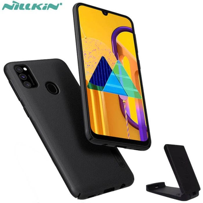 Promo Nillkin Hard Case Samsung Galaxy M30s - Frosted Shield Black ...