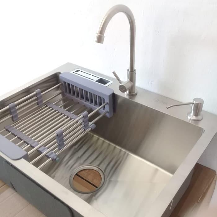 Jual Paket Lengkap Kitchen Sink Onan Kran Dan Tempat Sabun