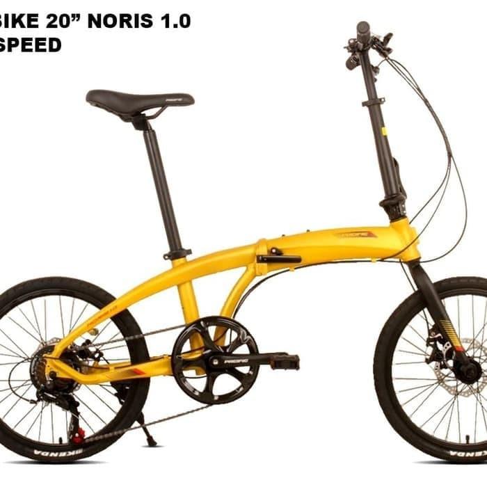 Jual Sepeda lipat pacific noris 1.0 20, inch Kota