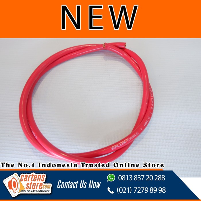 Foto Produk Cable Power Flux FPC 8 AWG 0,5 Meter ( New ) dari Cartens Store