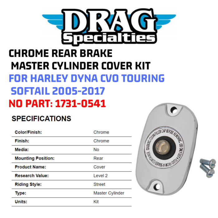 Drag Specialties Chrome 5 Pack Engine Oil Filter 83-17 Harley Touring Softail XL