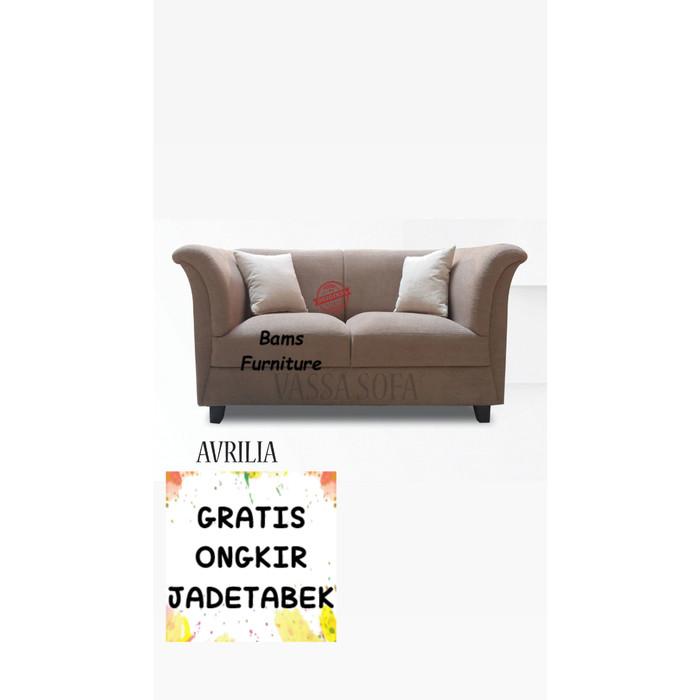 Jual Sofa Vassa Kualitas Terjamin Harga Terbaik Untuk Rumah Anda 2 Seat Merah Jakarta Barat Bams Furniture Tokopedia