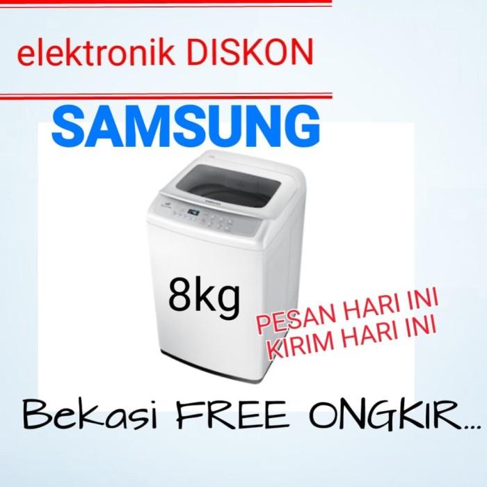 Jual Mesin Cuci Samsung 80h4000 8kg 1 Tabung Kota Bekasi Elektronik Diskon Tokopedia