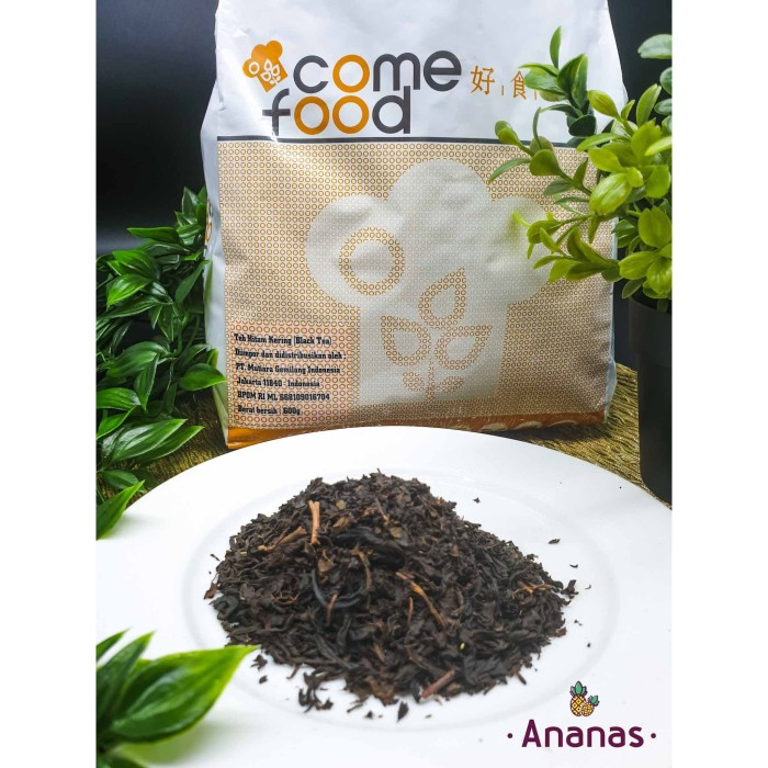 Jual Taiwan Black Tea Leaf 100 G Teh Hitam Asli Taiwan Teh Milk Tea Kota Surabaya Dokebi Tokobahankue Tokopedia