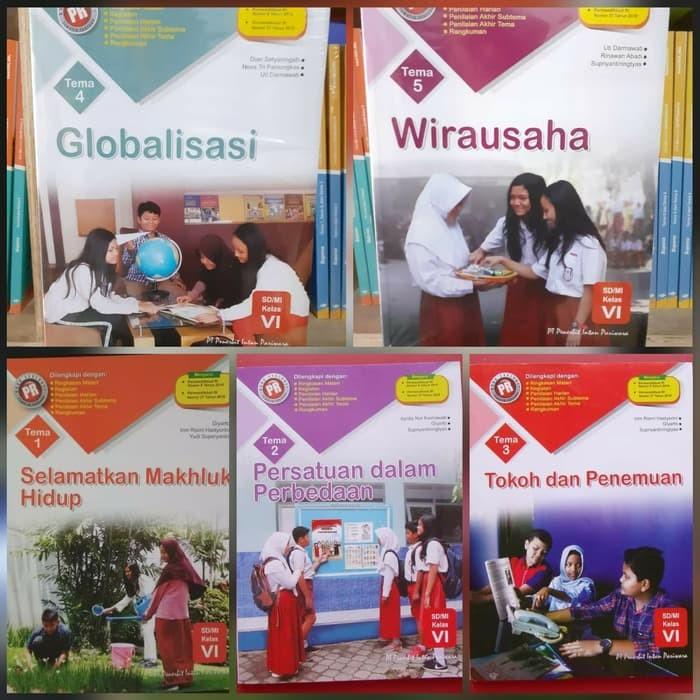 Jual Buku Sd Kelas 6 Buku Pr Tematik Kelas 6 Tema 1 2 3 4 5 Revisi Jakarta Utara Cawukhidayanto Tokopedia