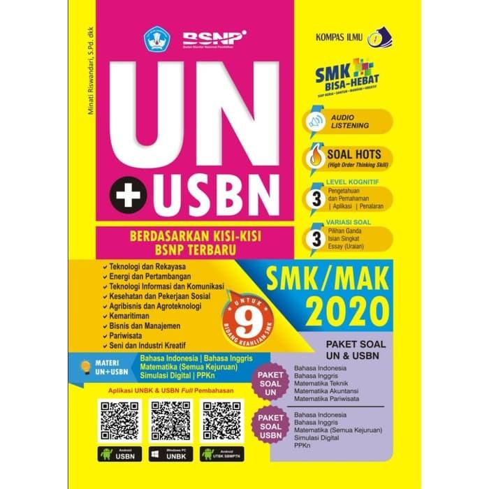 Jual Kumpulan Soal Sd Best Seller Buku Ujian Nasional Un Usbn Smk Mak Jakarta Timur Luwes Firgantoro Tokopedia