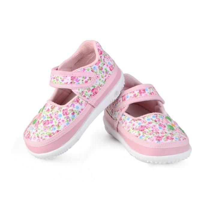 Foto Produk C10 sepatu anak bayi perempuan bahan terbaru umur 1 2 tahun bunyi - 23, PINK dari Syalu Shoes