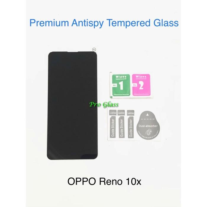 Foto Produk OPPO Reno 10x Privacy Anti Spy / Antispy Premium Tempered Glass dari Multi Store 12