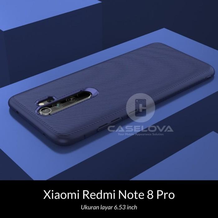 Foto Produk Case Xiaomi Redmi Note 8 Pro Evoskin Anti Skid Silicone - Hitam dari Caselova Store