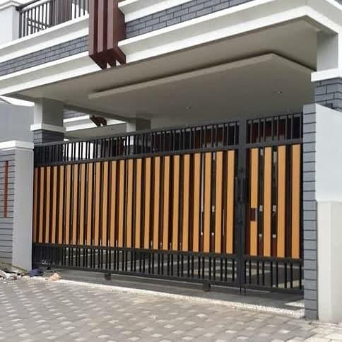 Jual Pagar Minimalis Grc Kota Palembang Jayaselaras Tokopedia