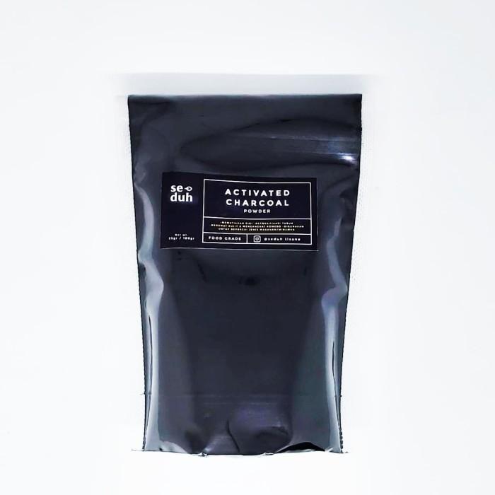 Foto Produk activated charcoal powder Food Grade 100 Gram dari Seduh Tisane