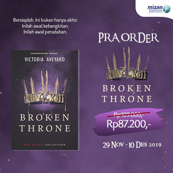 Foto Produk Broken Throne - Victoria Aveyard - Noura Books dari Republik Fiksi
