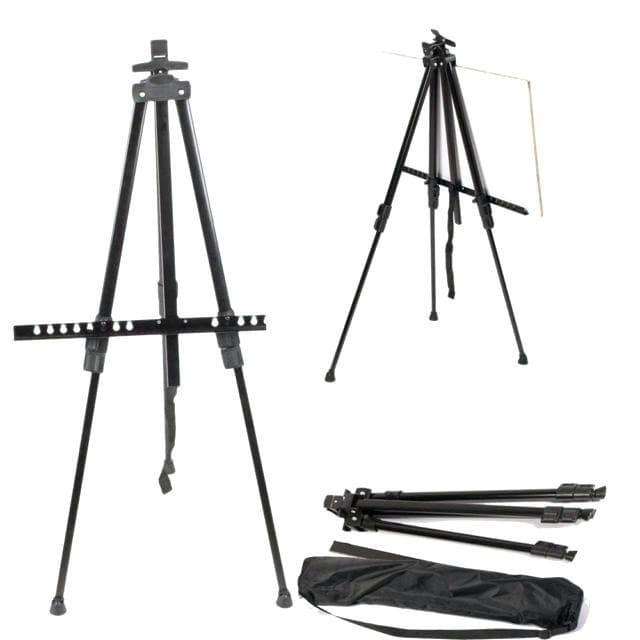 Foto Produk Stand Frame Foto 180cm Tripod Stand Bingkai Foto HB3101M dengan tas dari Grosir Aksesoris Kamera
