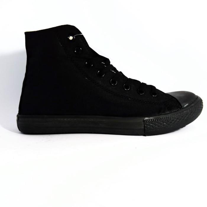 Foto Produk Sepatu Converse All Star High Full Black - Hitam, 38 dari Fahry 307shop