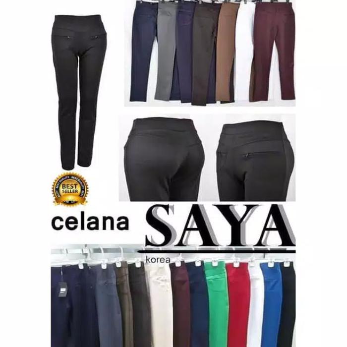 Jual Celana Legging Saya Stretch Licin Korea Import Kab Bogor Makmur 88 Shopping Tokopedia