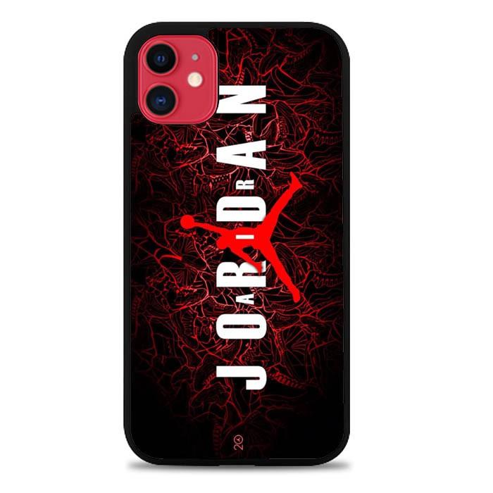 Jual Hardcase Custom Iphone 11 Air Jordan Red Wallpaper J0073 Kota Semarang Idea Case Tokopedia